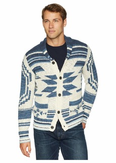 Lucky Brand Heritage Shawl Cardigan Sweater