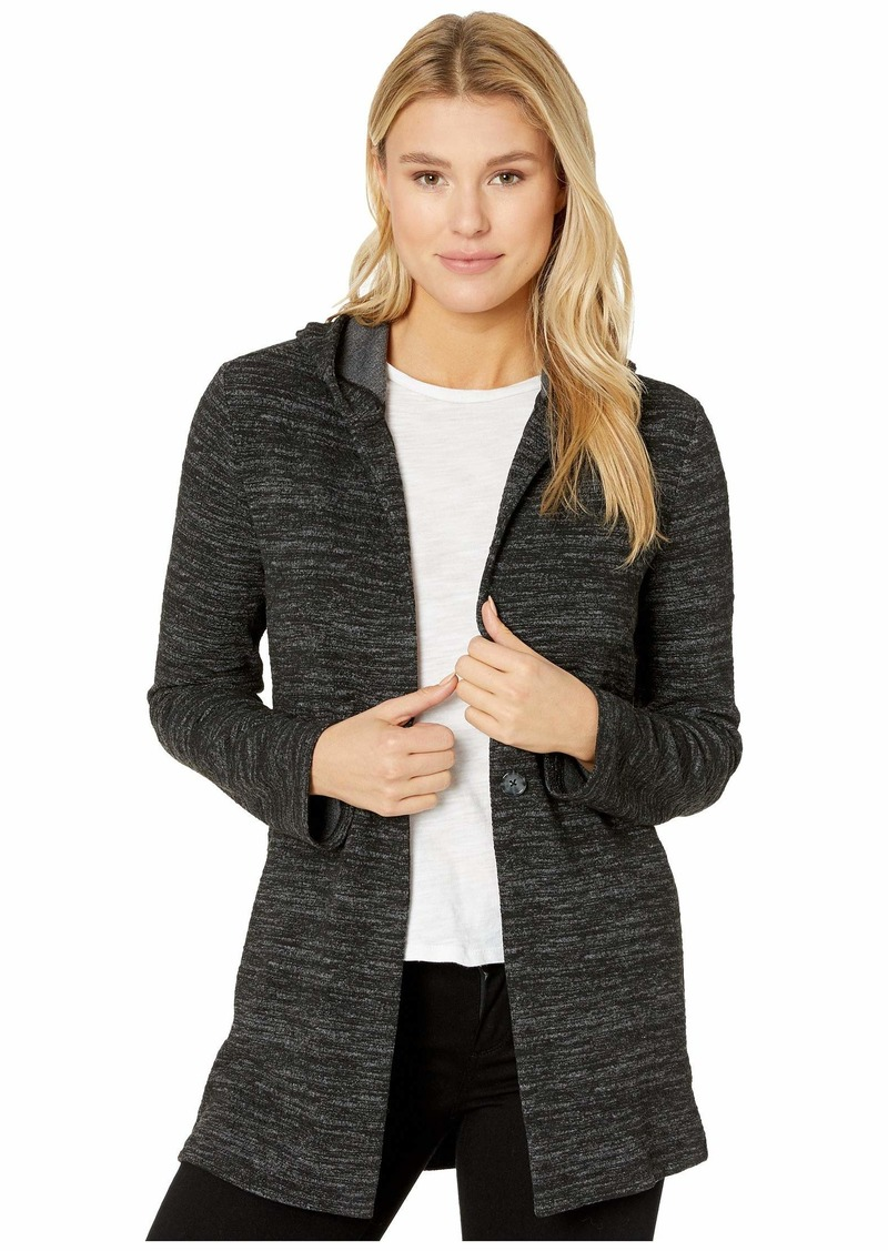 Lucky Brand Hooded Button Jacket