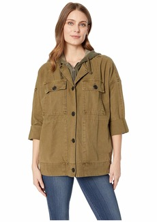 Lucky Brand Hooded Utility Jacket