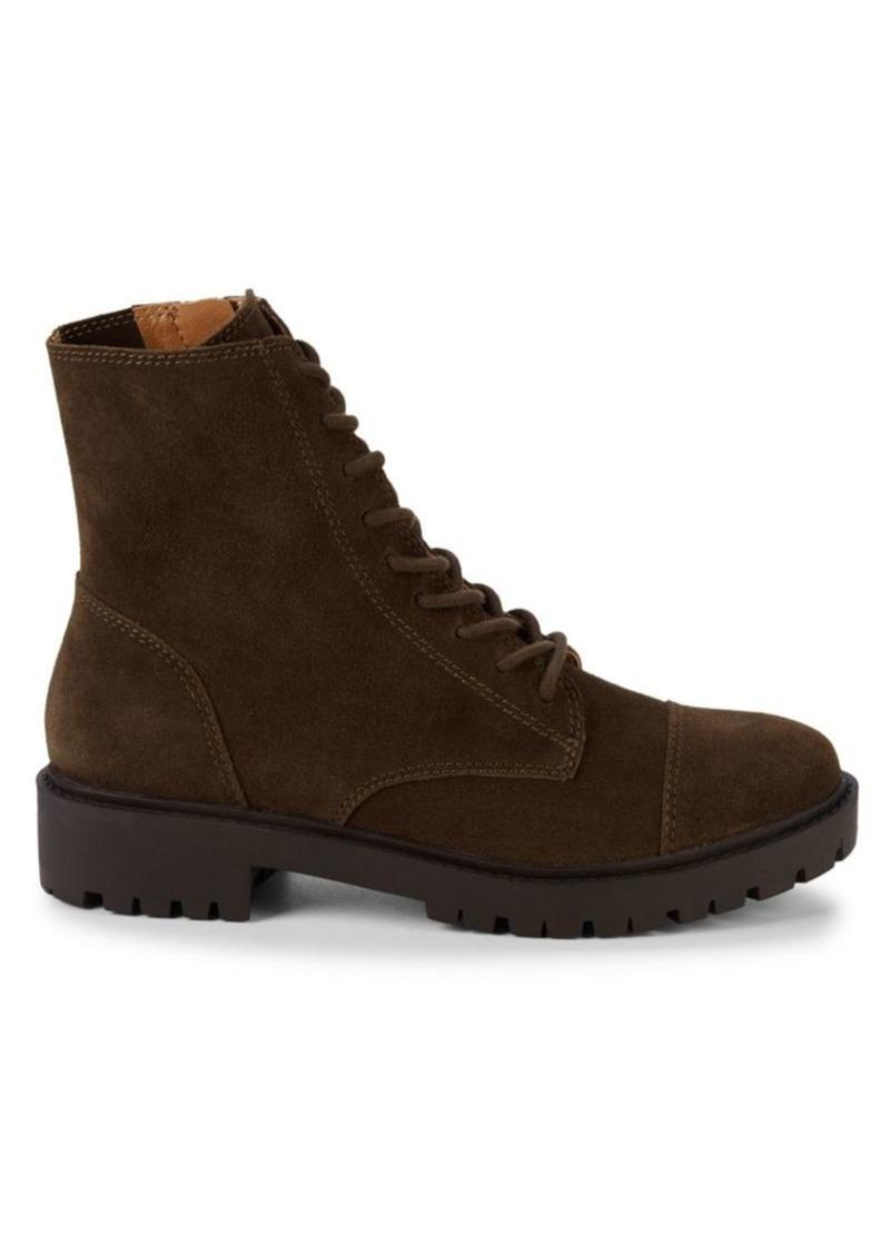 Lucky Brand ICTUS Suede Combat Boots