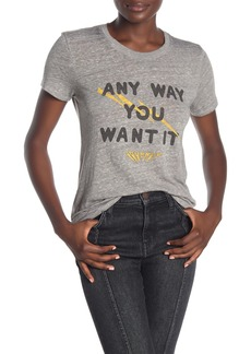 Lucky Brand Journey Any Way You Want It Short Sleeve T-Shirt