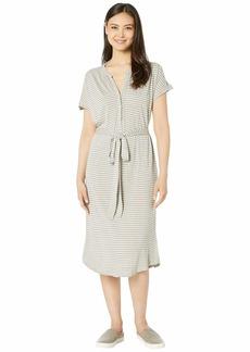 Lucky Brand Knit Henley Dress