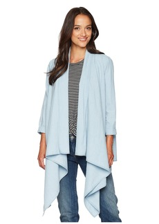Lucky Brand Knotted & Draped Top