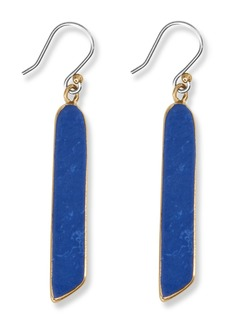 Lucky Brand Lapis Linear Drop Earring