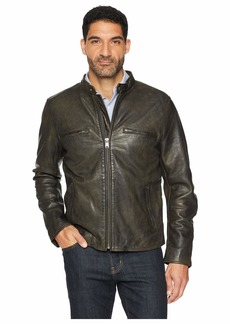 Lucky Brand Leather Bonneville Jacket