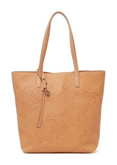 Lucky Brand Lina Embossed Leather Tote