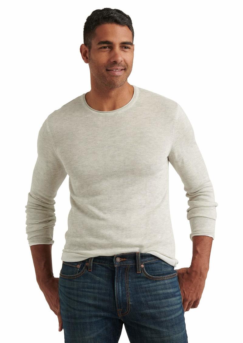 Lucky Brand Linen Blend Welterweight Crew Neck Sweater