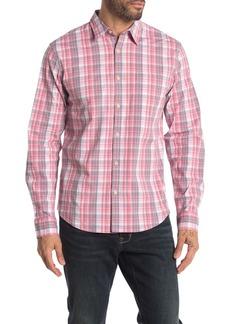 Lucky Brand Long Sleeve Ballona Pocket Stretch Button Down Shirt