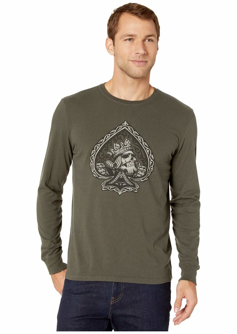 Lucky Brand Long Sleeve Poker King Tee