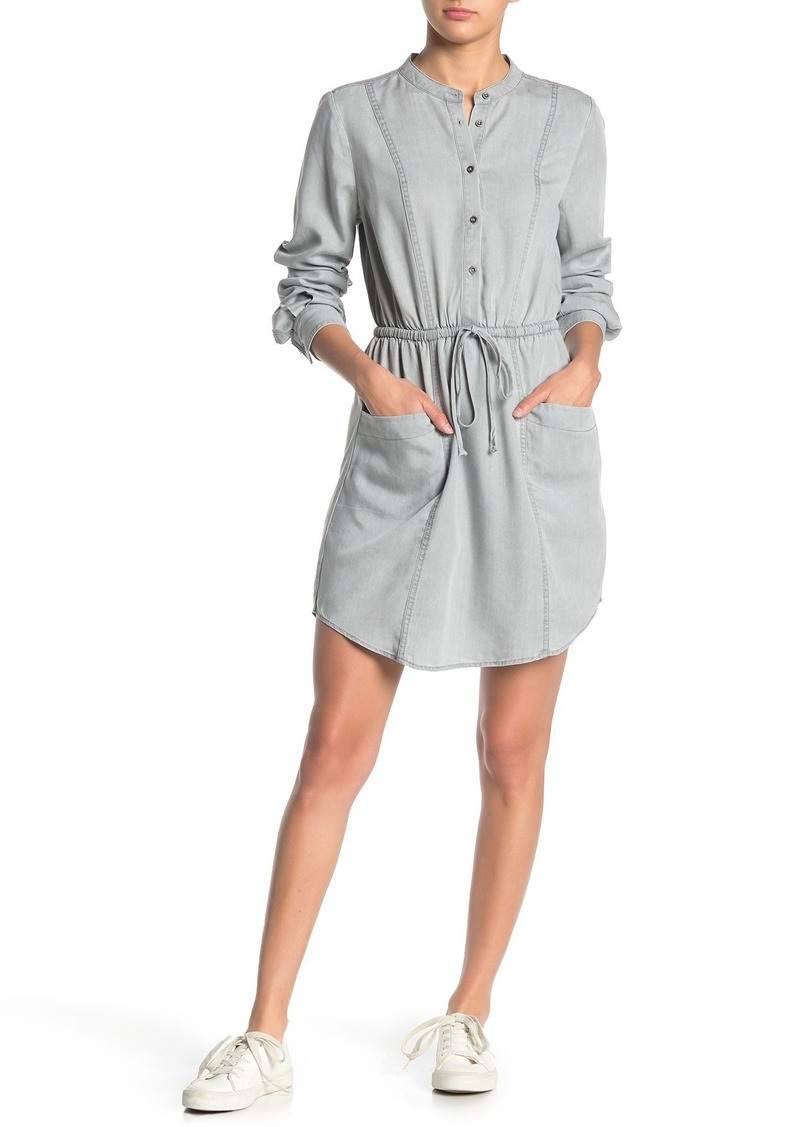 Lucky Brand Long Sleeve Shirt Dress