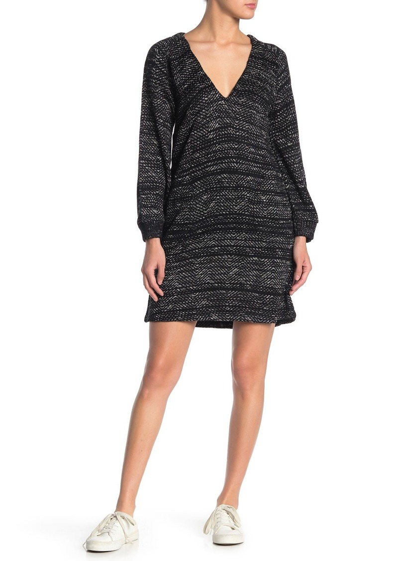 Lucky Brand Long Sleeve Sweater Dress
