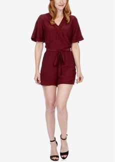 Lucky Brand Analisa Faux-Wrap Romper