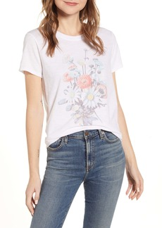 Lucky Brand Antique Bouquet Graphic Tee