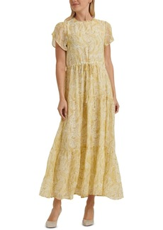 Lucky Brand Ariel Paisley-Print Tiered Dress