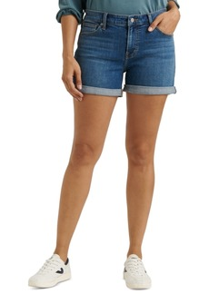 Lucky Brand Ava Roll-Up Jean Shorts