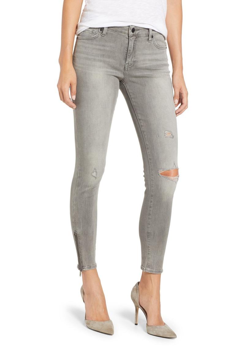 Lucky Brand Womens Mid Rise Ava Super Skinny Jean in Lovelock