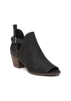 "Lucky Brand® ""Banu"" Peep Toe Booties"