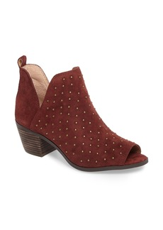 Lucky Brand Barleena Peep Toe Bootie (Women)