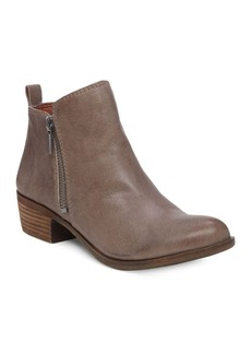 Lucky Brand Basel Printed Suede Booties