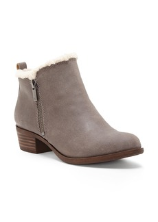 Lucky Brand Basel Waterproof Faux Fur Lining Bootie (Women)