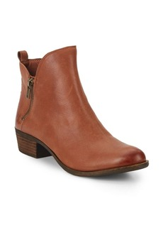 Lucky Brand Basonta Leather Ankle Boots