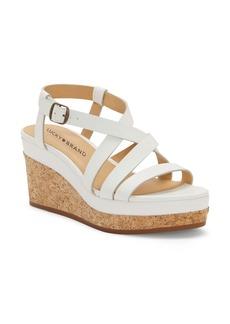 Lucky Brand Batikah Strappy Wedge Sandal (Women)