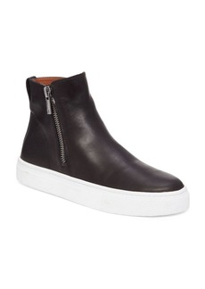 Lucky Brand Bayleah Leather Sneakers