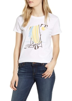 Lucky Brand Beach Chair Cotton Graphic Tee