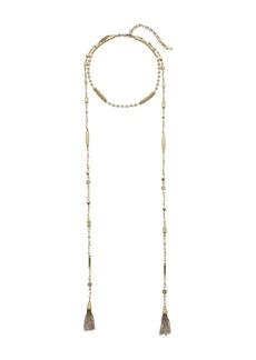 Lucky Brand Beaded Choker Necklace