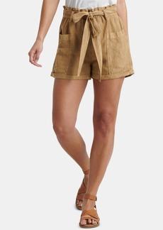 Lucky Brand Belted Patch Pocket Shorts