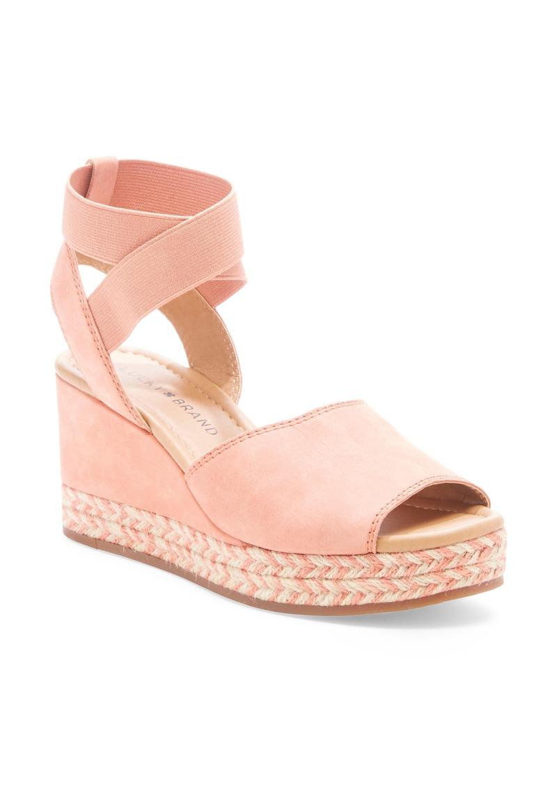 Lucky Brand Bettanie Espadrille Wedge Sandal (Women)