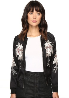 Lucky Brand Bird Bomber Jacket