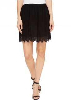 Lucky Brand Black Lace Skirt