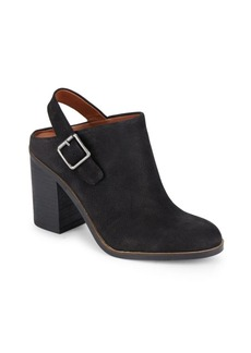 Lucky Brand Block-Heel Leather Ankle Boots