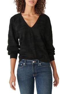 Lucky Brand Blouson Sleeve Sweater