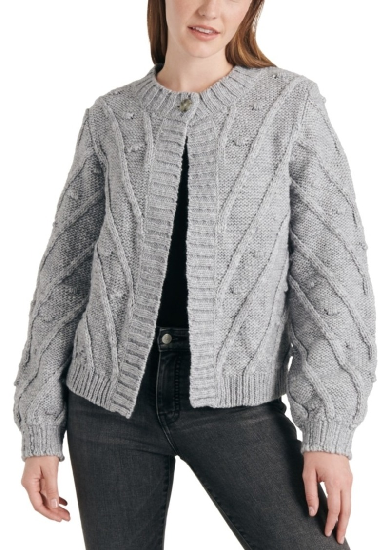 Lucky Brand Bobble Cardigan Sweater
