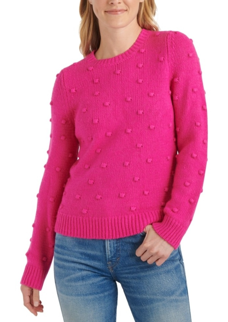 Lucky Brand Bobble Crewneck Sweater
