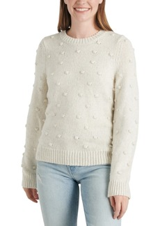 Lucky Brand Bobble Crewneck Sweater