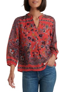 Lucky Brand Boho Peasant Top