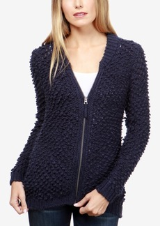 Lucky Brand Bomber-Inspired Sweater Jacket