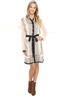 Lucky Brand Border Print Dress