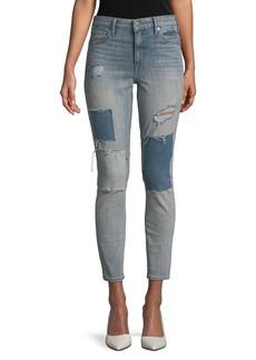 Lucky Brand Bridgete Distressed Skinny Jeans