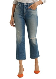 Lucky Brand Bridgette Cropped Mini Bootcut Jeans
