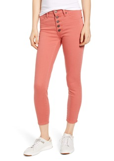 Lucky Brand Bridgette High Waist Crop Jeans (Faded Rose)