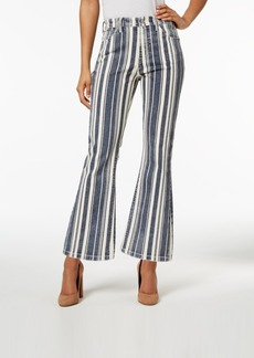Lucky Brand Bridgette Striped Bootcut Jeans