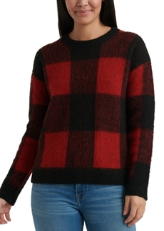 Lucky Brand Buffalo-Plaid Sweater