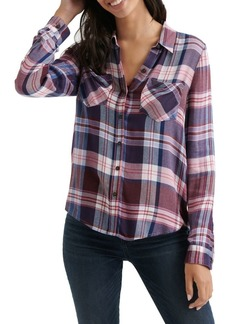 Lucky Brand Button-Down Plaid Shirt