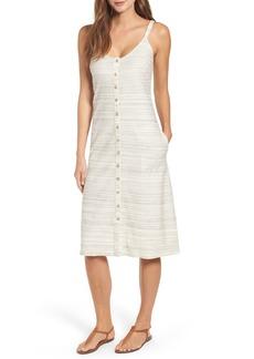 Lucky Brand Button Up Knit Dress