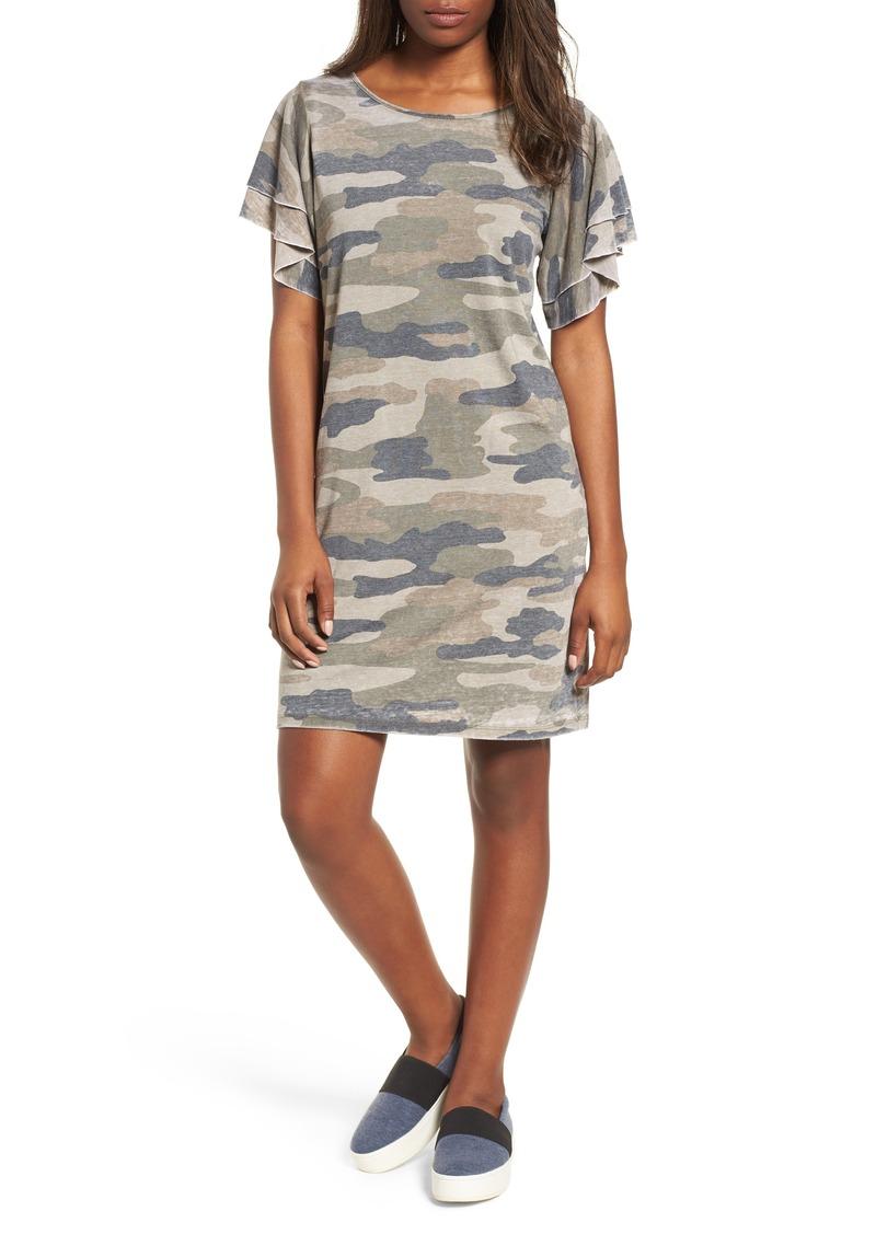 Lucky Brand Lucky Brand Camo Print Dress Dresses
