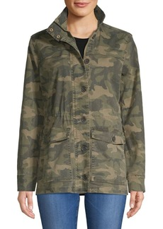 Lucky Brand Camo Printed Jacket